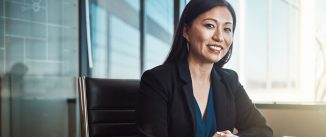Cropped portrait of a mature businesswoman working in her office